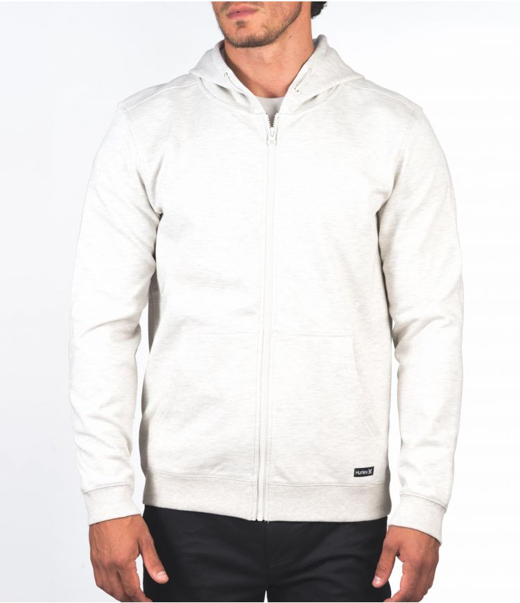 THERMA PROTECT FULL ZIP 2.0 - MEN|OATMEAL HTR|L