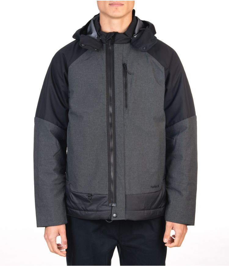 KNIGHT DEFENDER JACKET - MEN|BLACK|XXL