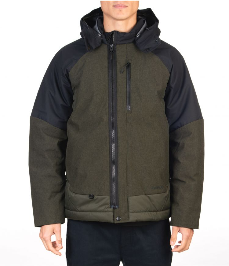 KNIGHT DEFENDER JACKET - MEN|SEQUOIA/HTR|XL