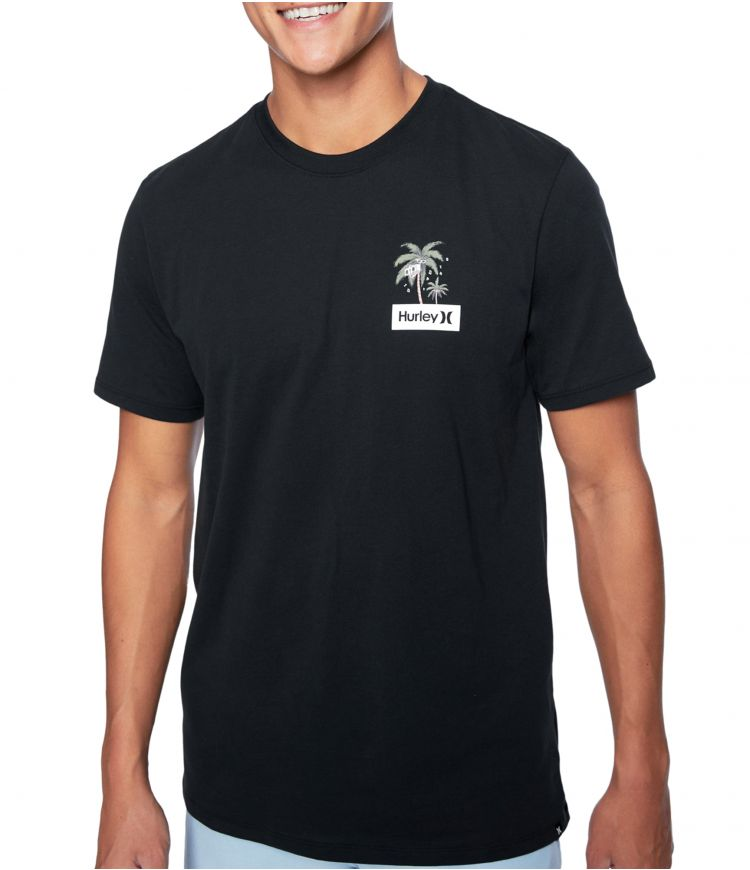 DRI-FIT CHILLAXING S/S - MEN |BLACK|XXL
