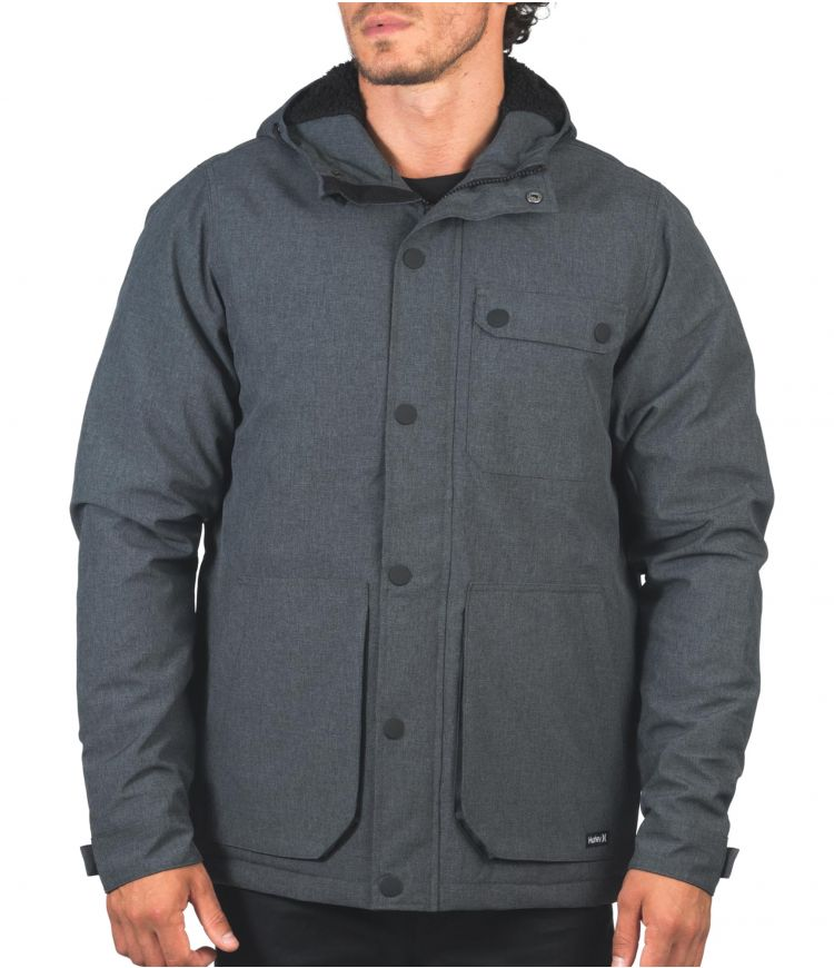 COLONIAL TRUCKER JACKET - MEN|DK SMOKE GREY|S