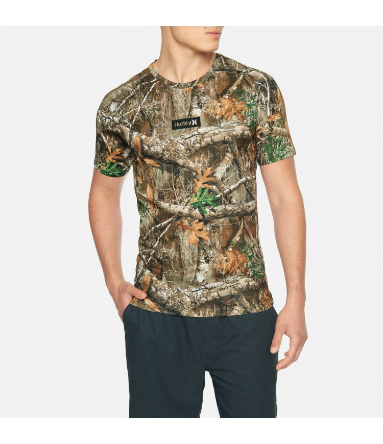QUICK DRY REALTREE TEE S/S - MEN |EDGE CAMO|M