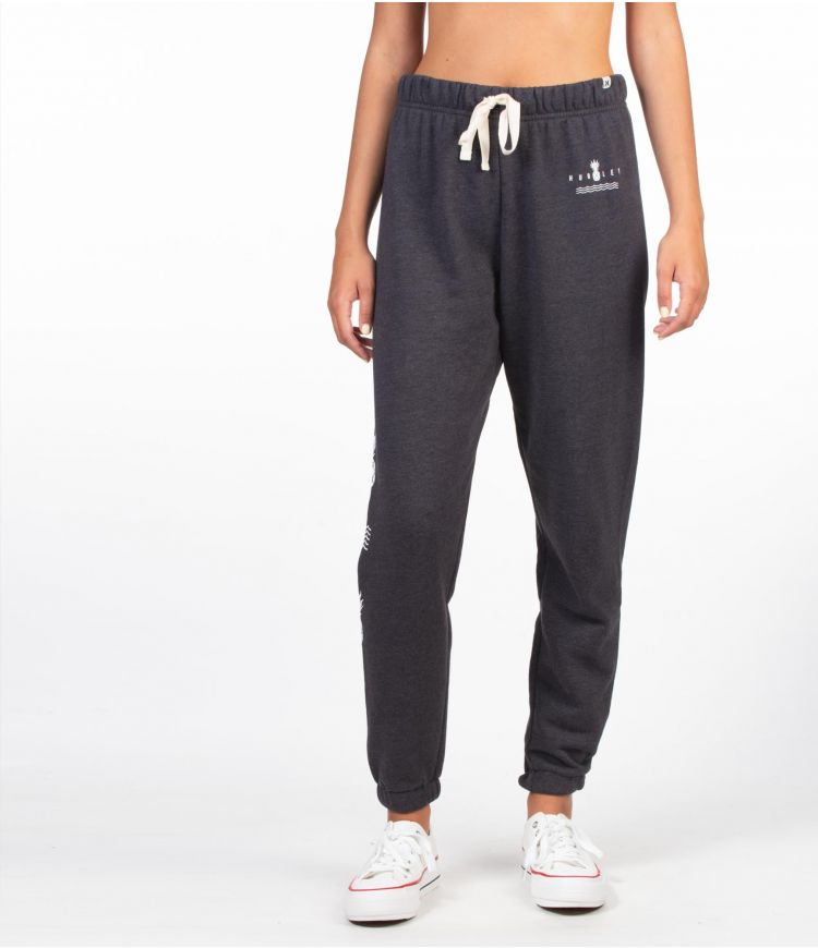 NICO FLEECE JOGGER - WOMEN|OIL GREY HTR|XS