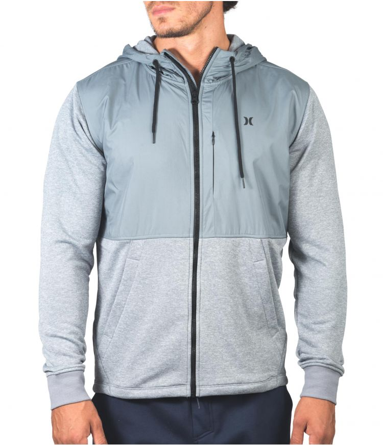 DRI-FIT DISPERSE SIEGE FULL ZIP - MEN|COOL GREY|XL