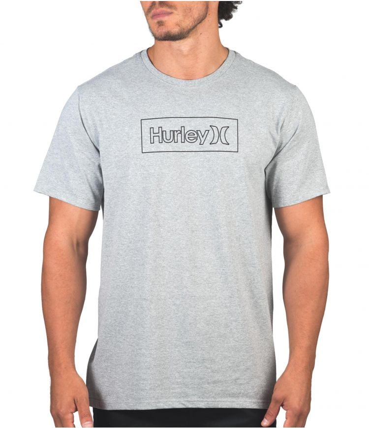 REC ONE & ONLY OUTLINE BOXED S/S - MEN|DARK GREY|XL