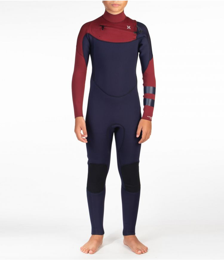 ADVANTAGE 3/2MM FULLSUIT - BOYS|OBSIDIAN|10