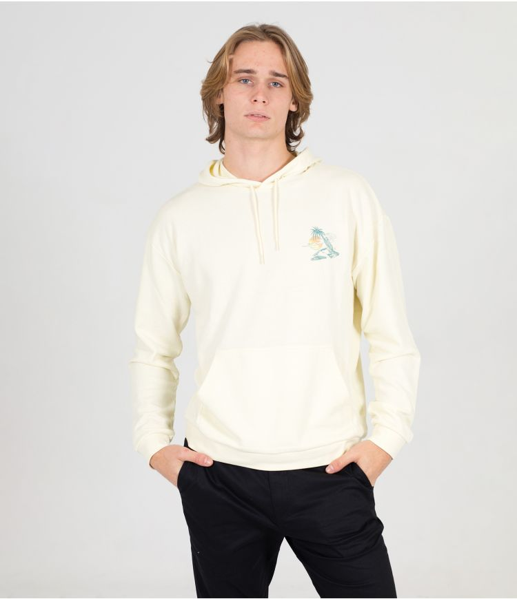 LAZY DAYS PULLOVER - MEN|COCONUT MILK|L