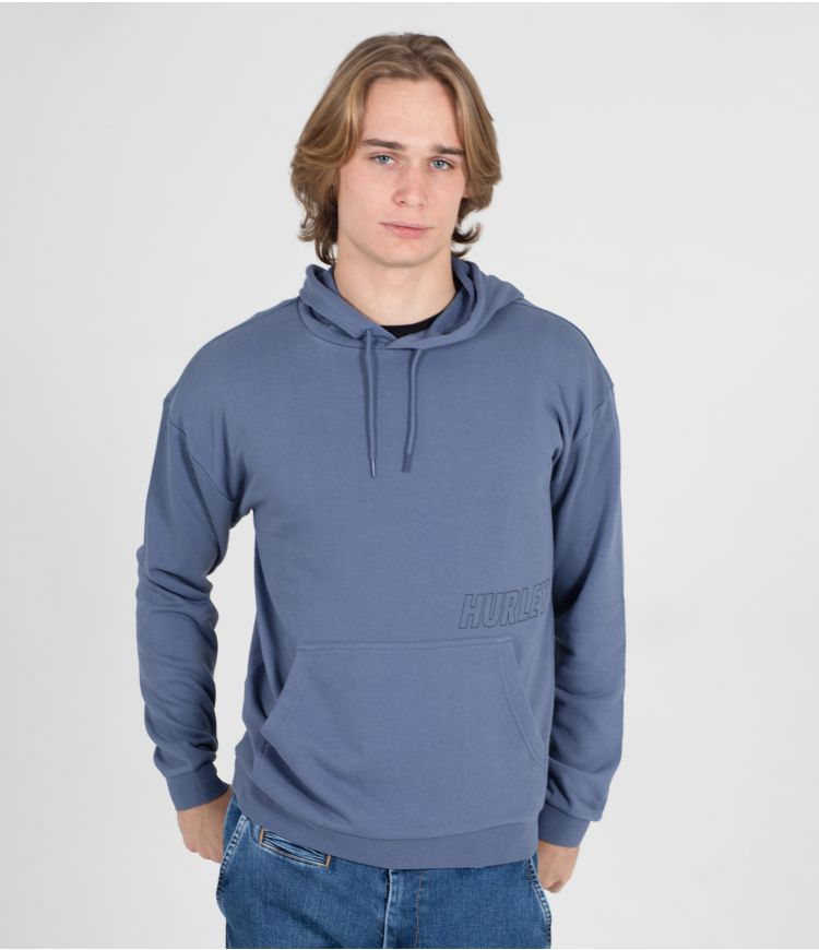 LAZY DAYS PULLOVER - MEN|DIFFUSED BLUE|L