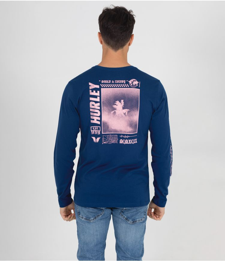 EVERYDAY EXPLORE PALM TRIP L /S - MEN |COSTAL BLUE|S