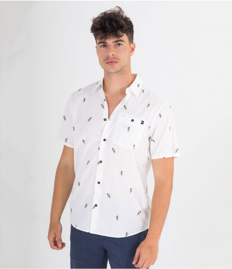 ORGANIC WINDANDSEA S/S  - MEN |WHITE|L