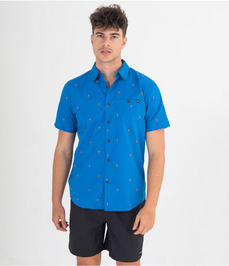 ORGANIC WINDANDSEA S/S  - MEN |SIGNAL BLUE|M
