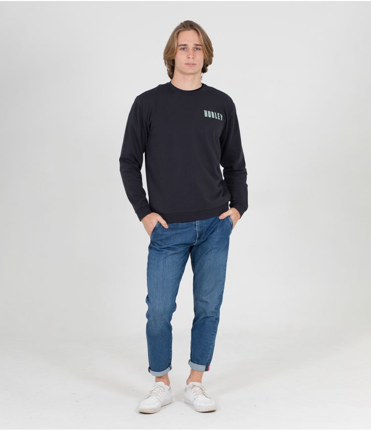 LAZY DAYS CREW - MEN|OFF NOIR|L