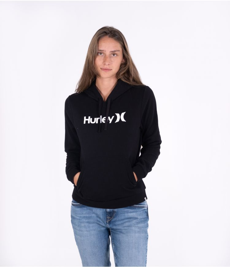 ONE & ONLY CORE HOODIE - WOMEN|BLACK|S