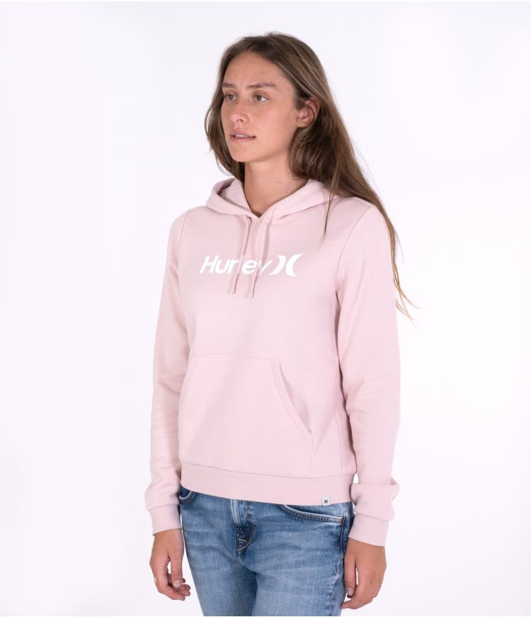 ONE & ONLY SEASONAL HOODIE - WOMENS|LIGHT CORAL ALMOND|S