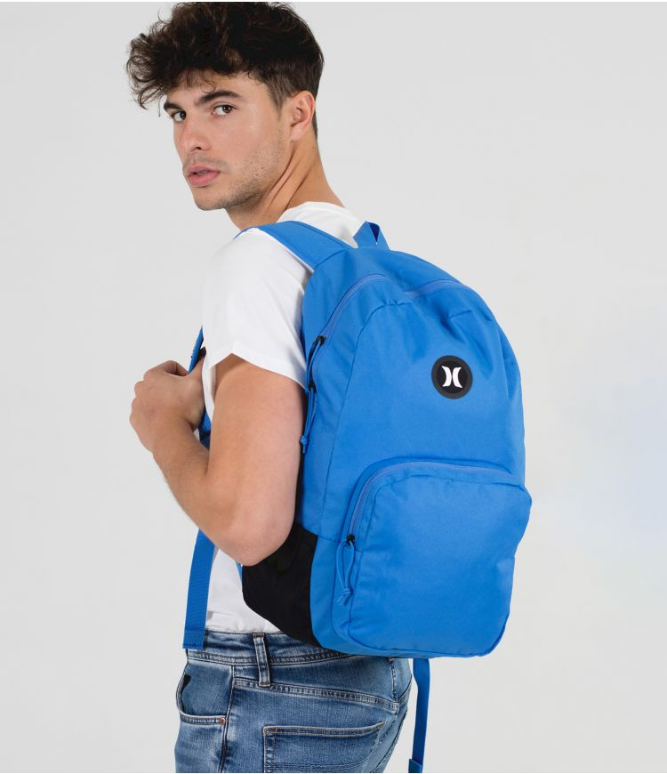 U BLOKE SOLID BACKPACK|PACIFIC BLUE|1SIZE