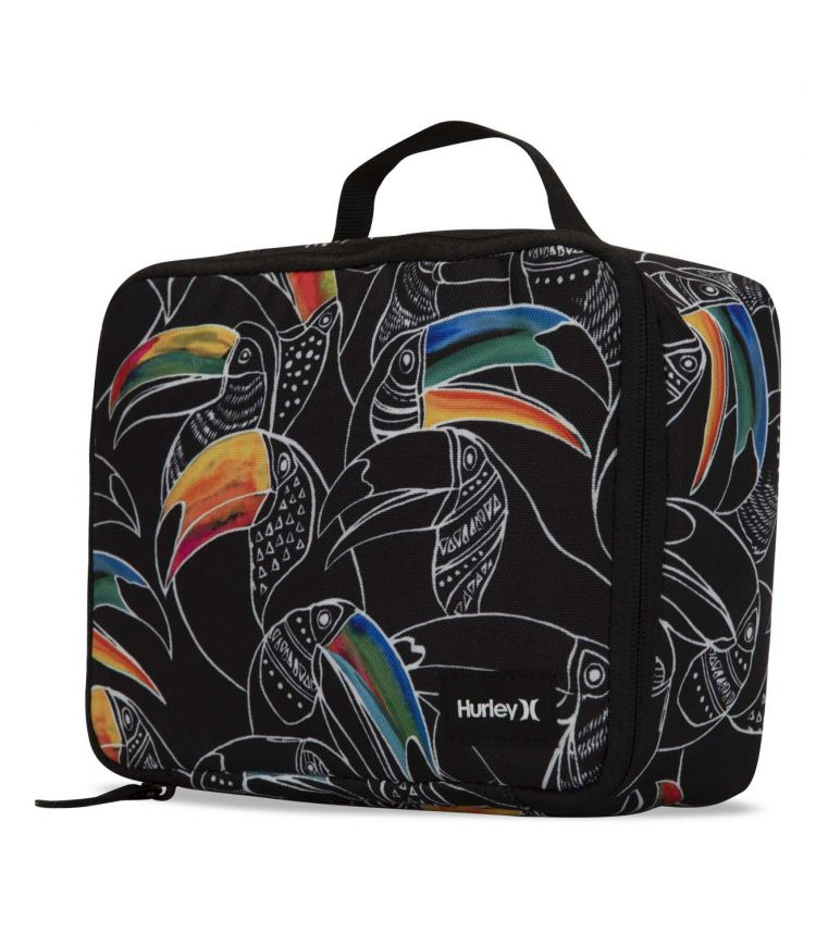 ONE & ONLY PRINTED LUNCH KIT |BLACK|1SIZE