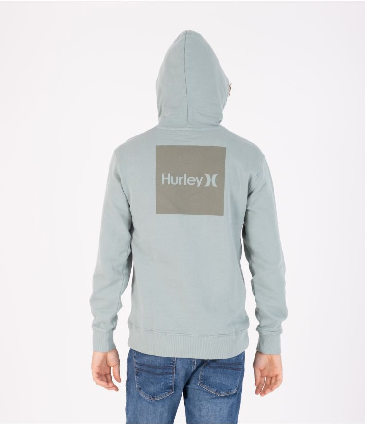 ONE & ONLY BOXED OCEANCARE WASHED PULLOVER - MEN|MEDIUM OLIVE|L