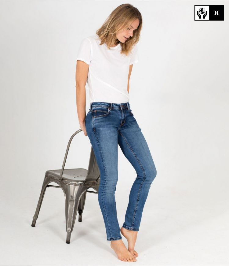 PAM SLIM OCEANCARE DENIM PANT - WOMEN|DENIM WP3|26