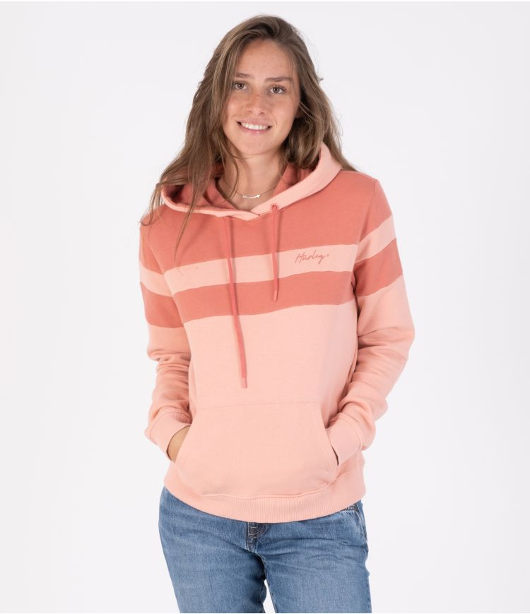 OCEANCARE WASHED COLLEGE PULLOVER - WOMEN|PINK|XS